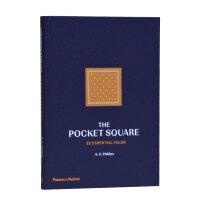 The Pocket Square口袋方巾:22种基本折法