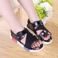 女童凉鞋新款夏季儿童沙滩鞋公主鞋中大童女童鞋