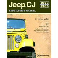 【预订】Jeep CJ Rebuilder's Manual: 1972 to 1986