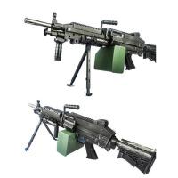 下供玩具枪TDM249二代版下供大菠萝连发电动成人真人cs机枪水蛋