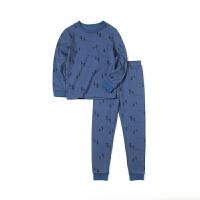 【2件3折:74】巴拉巴拉旗下巴帝巴帝儿童纯棉卡通家居服套装2020新款长袖睡衣秋裤男女
