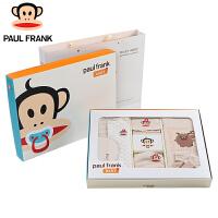 【儿童节大促-快抢券】TWG3174629大嘴猴(Paul Frank) 新生婴儿衣服礼盒套装 纯棉宝宝出生礼盒婴儿用