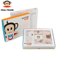 TWG3174629大嘴猴(Paul Frank) 新生婴儿衣服礼盒套装 纯棉宝宝出生礼盒婴儿用品保暖秋冬
