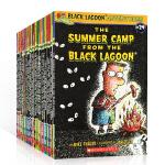 【顺丰包邮】英文原版 Black Lagoon Adventures 黑潭小学 27册全套装 章节桥梁书