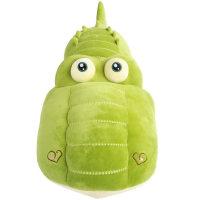 鳄鱼毛绒玩具睡觉抱枕长条枕布娃娃公仔可爱床上玩偶生日礼物女孩 绿色 180厘米【收藏加购 送运费险优先发货】