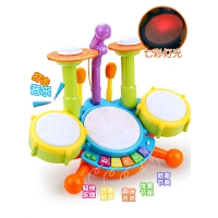 儿童架子鼓玩具1-3-6岁宝宝音乐爵士鼓乐器初学者敲打鼓男孩女孩