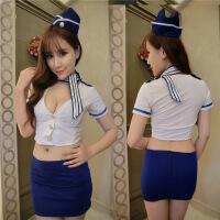 情趣内衣性感水手激情套装空姐制服角色扮演露乳女警诱惑FS008