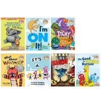 英文原版 小猪小象系列5册套装 Elephant & Piggie Like Reading! 儿童全彩精装图画故事绘本情商教育启蒙亲子故事读物