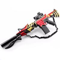 动连发M4枪多变儿童玩具枪可发射水晶弹男孩儿童节礼物