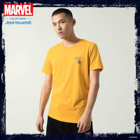 [618提前购专享价:37.9元]真维斯男装 2020夏季新款 漫威复仇者联盟圆领短袖印花T恤