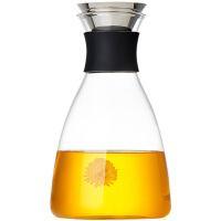 玻璃凉水壶家用高温水瓶套装玻璃茶壶大容量果汁冷水壶
