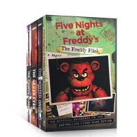 英文进口原版小说 玩具熊五夜后宫系列4册套装 Five Nights at Freddy's 玩具熊的五夜惊魂Scho
