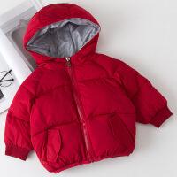 儿童冬季外套男童短款加厚面包服棉衣婴幼儿宝宝保暖棉袄羽绒