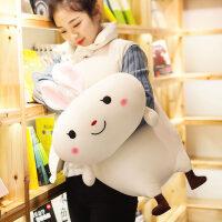 可爱暖手抱枕插手公仔毛绒玩具抱着睡觉的娃娃萌女生韩国玩偶女孩