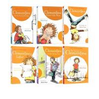 淘气的阿柑英文原版 Clementine 6本全套 SaraPennypacker小学课外阅读桥梁章节书