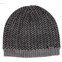 新款加厚冬天时尚套头帽包头帽子 男士帽子冬季毛线帽