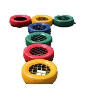 幼儿园感统器材儿童户外轮胎游戏玩具拓展彩色橡胶轮胎滚圈钻洞