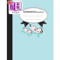 【中商海外直订】Composition Notebook, 8.5 X 11, 110 Pages: Pink Pig