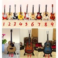 吉他小提琴话筒架子鼓乐器模型