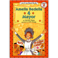 Amelia Bedelia 4 Mayor (I Can Read - Level 2)英文原版读物书