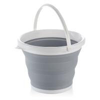 折叠水桶手提可伸缩塑料家用便携式加厚旅行户外车载洗车桶钓鱼桶
