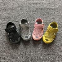 夏季女童凉鞋儿童镂空沙滩鞋宝宝洞洞鞋男童透气网面潮鞋