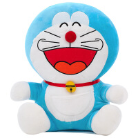 菲洛林 送女生毛绒玩具 抖音哆啦A梦蓝胖子玩偶公仔叮当猫机器猫抱枕娃娃儿童