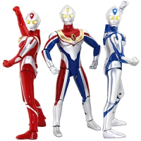 迪迦奥特曼玩具人偶召唤器变声器超人模型发光发声可动