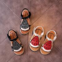 儿童西瓜凉鞋 新款女宝宝凉鞋夏季女童可爱小公主鞋