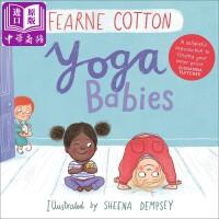 【中商原版】瑜伽宝宝 英文原版 Yoga Babies 情绪平稳安定 心灵修行 低幼童书 2-6岁