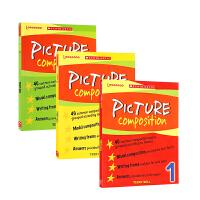 【全店300减100】英文原版进口 PICTURE COMPOSITION系列1-3册 学乐小学生英语作文课外练习册 6