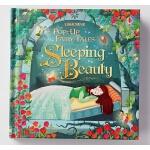 【中商原版】睡美人立体书 英文原版 Sleeping Beauty (Pop-up Fairy Tales) 纸板书