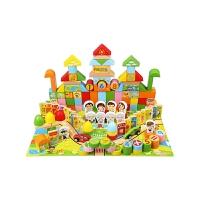 积木玩具3-6周岁儿童女孩1-2岁宝宝木头制拼装7-8-9-10岁男孩