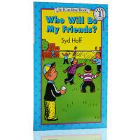 英文原版进口 An I can read book Who Will Be My Friends?汪培�E一阶段少儿亲子