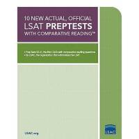 【预订】10 New Actual, Official LSAT Preptests with
