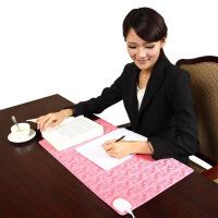 小金猴电热暖桌垫暖桌宝发热垫电脑桌垫加热书写垫暖手桌垫办公室KT 36*60CM