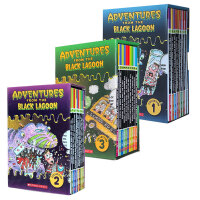 英文原版 30册 Black Lagoon Collection Set 黑潭小学历险记1-2-3季盒装 提升学生课外