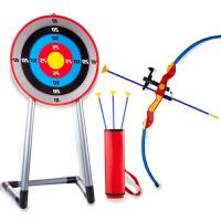 儿童弓箭玩具户外玩具弓箭传统宝宝射击射箭玩具弓箭支吸盘男孩子
