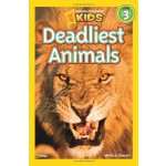 National Geographic Readers,Level 3: Deadliest Animals 美国《国家地理》杂志-儿童科普分级阅读,第3级:致命的动物 ISBN 9781426307577
