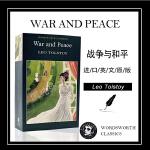 战争与和平 英文原版 War and Peace 进口小说 Leo Tolstoy 列夫托尔斯泰 俄国批判现实主义文学