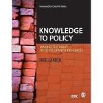 【预订】Knowledge to Policy: Making the Most of Development