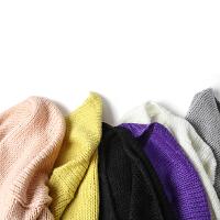 冬装新款女装纯色加厚粗毛线开衫无扣针织学生毛衣外套JY18