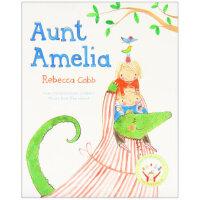【正版现货】Aunt Amelia 阿米莉亚阿姨 Rebecca Cobb 9781447242369 Pan Mac