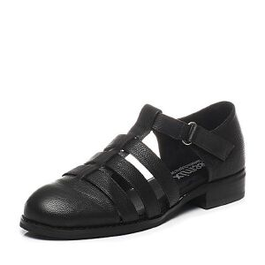 Teenmix/天美意2017春季专柜同款牛皮女凉鞋6T430AK7