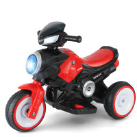 创意新款童车儿童电动车可坐人电动三轮速暴儿童摩托车1-3-6岁小孩玩具车