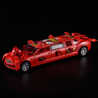 合金玩具车新婚车礼物6开门声光结婚婚房创意装实用饰品摆件礼品