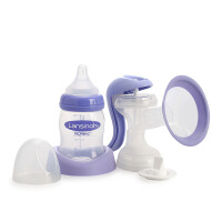 Lansinoh兰思诺孕妇产妇手动式吸奶器哺乳吸乳器挤乳器母乳收集器