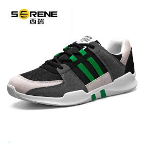 西瑞运动休闲鞋低帮轻便跑步鞋时尚百搭旅游鞋潮流男鞋子ZC316