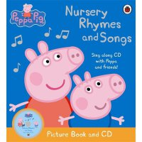 Peppa Pig: Nursery Rhymes and Songs Picture Book and CD粉红猪小