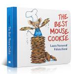 顺丰发货 The Best Mouse Cookie 老鼠饼干 纸板书 儿童英文原版绘本 廖彩杏推荐 if you g
